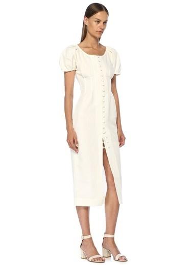 Cult Gaia Elbise Beyaz